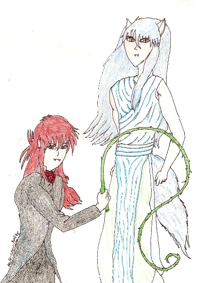 If Kurama And Yoko Became A Vampire
