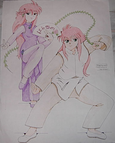 Rose And Kurama Prepare For Action