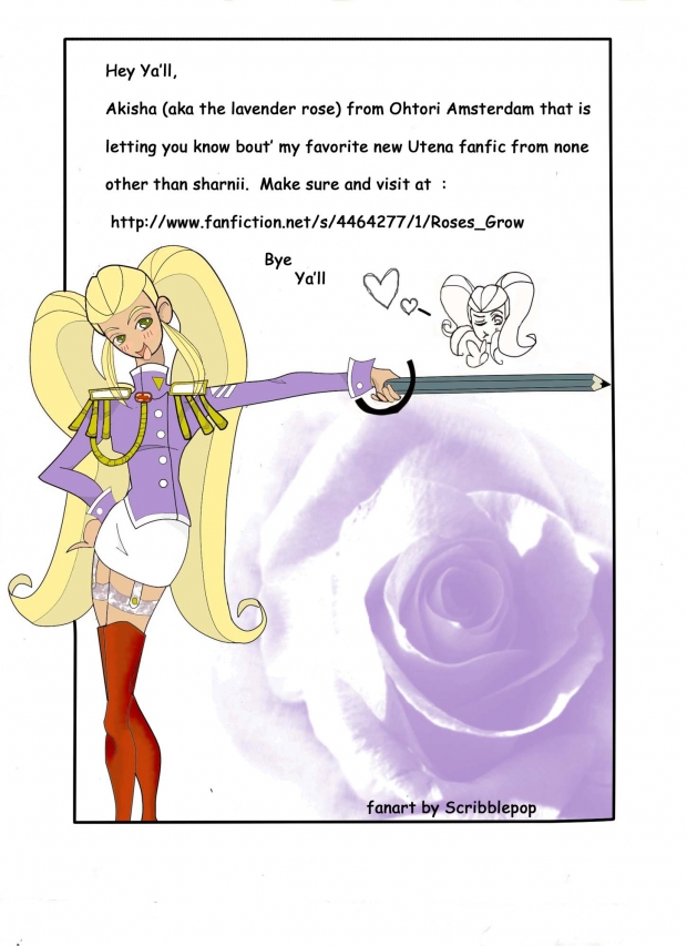 Utena Fanfiction Promo  Contest 2