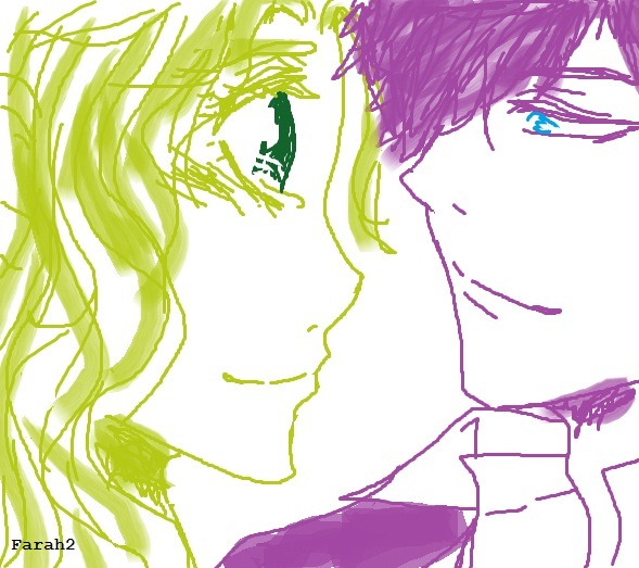 [MS PAINT] Kyoya&Tokio
