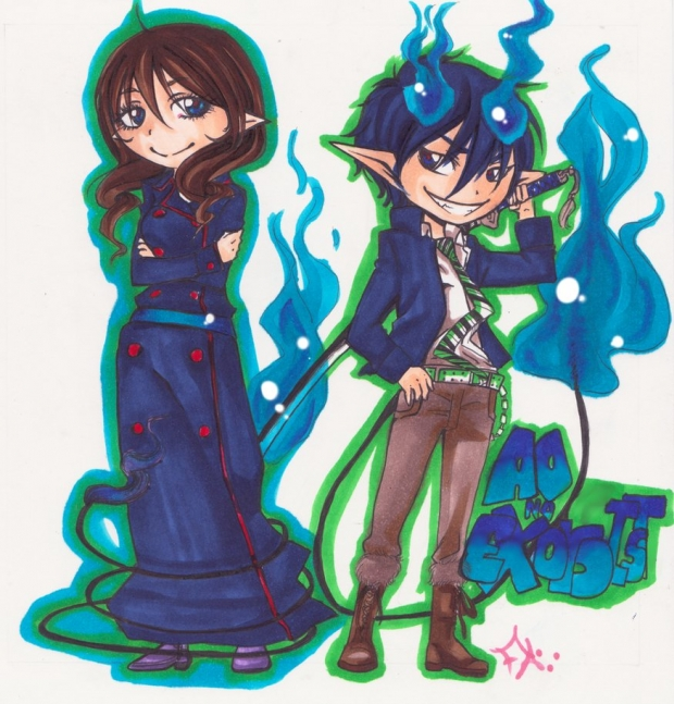 Ze Blue Exorcist