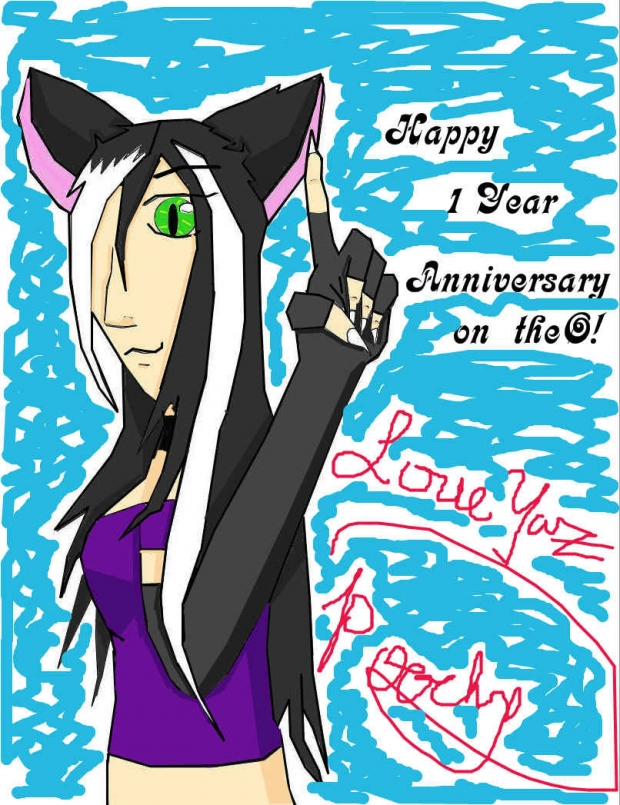 1 Year Anniversary On TheO! XD
