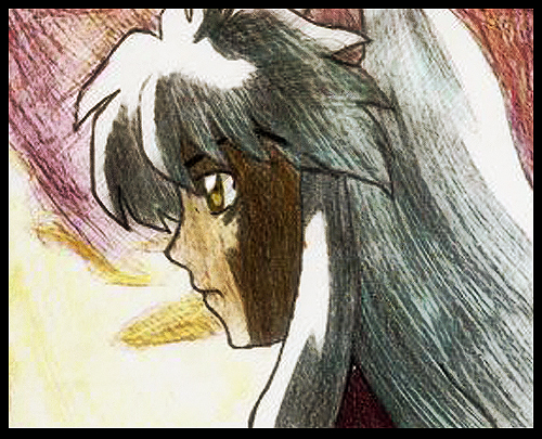 Old Inuyasha Drawing