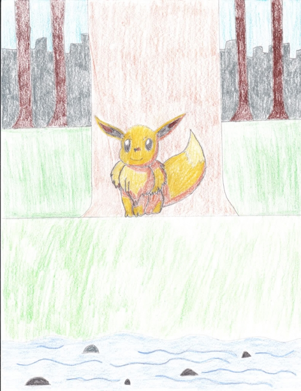 A Common Forest Eevee