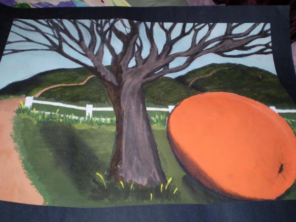 Tree and the Orange