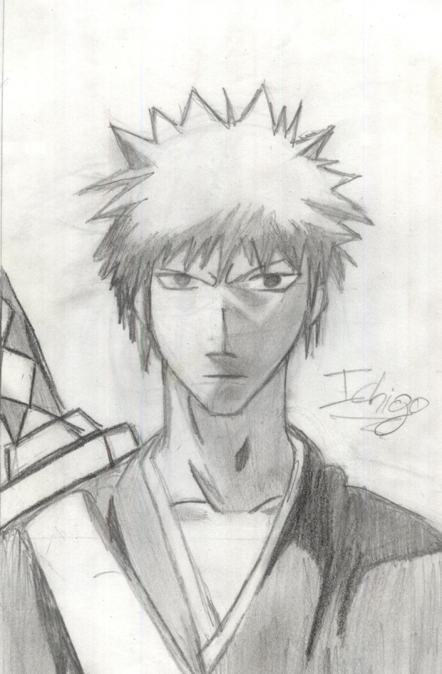 quick ichigo drawing