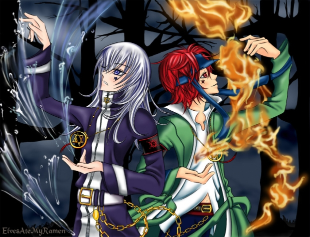 Jay and Aru Water and Fire