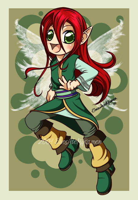 Chibi Elf Anaryan