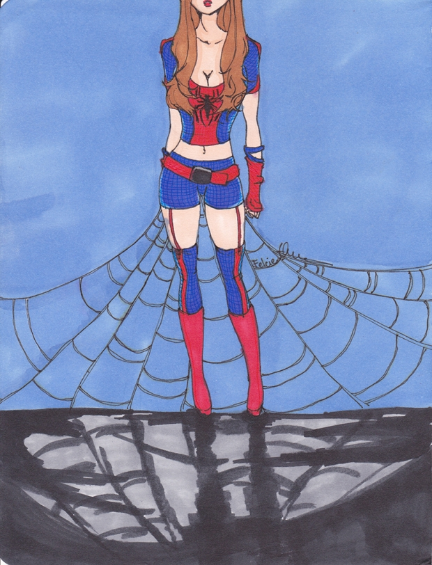 Spider-Man (rule 63)