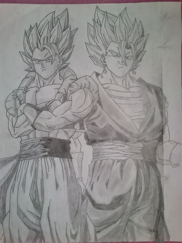 Gogeta and Vegetto