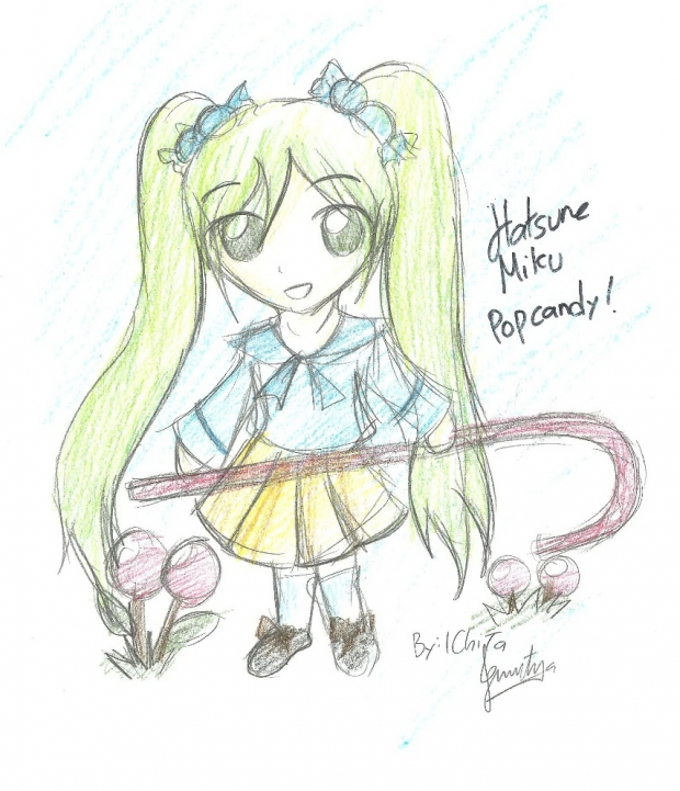 Miku Sketch Popcandy