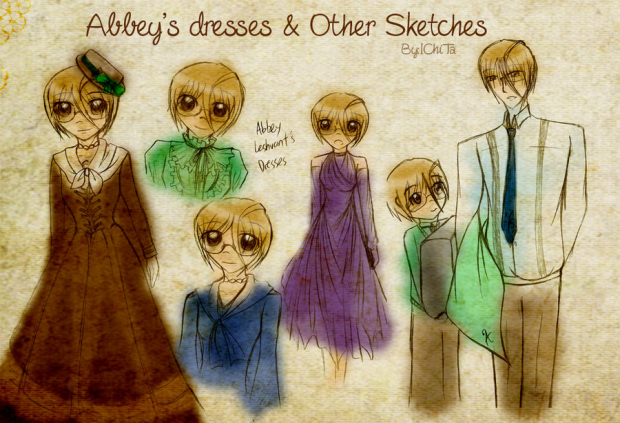 Abbey's Dresses and Sketches