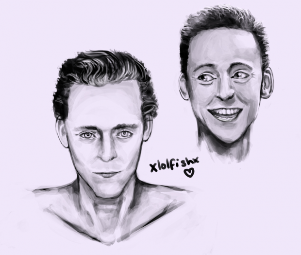 Hiddles Portraits