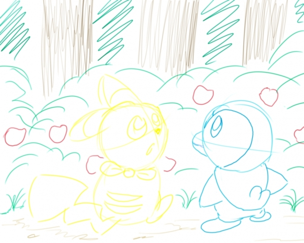 Pokemon Mystery dungeon 2 Apple Woods