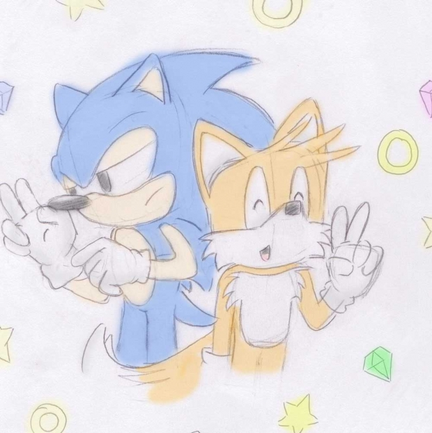 Sonic and Tails Again