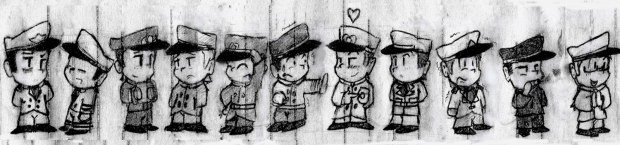 1930's Chibi Officers
