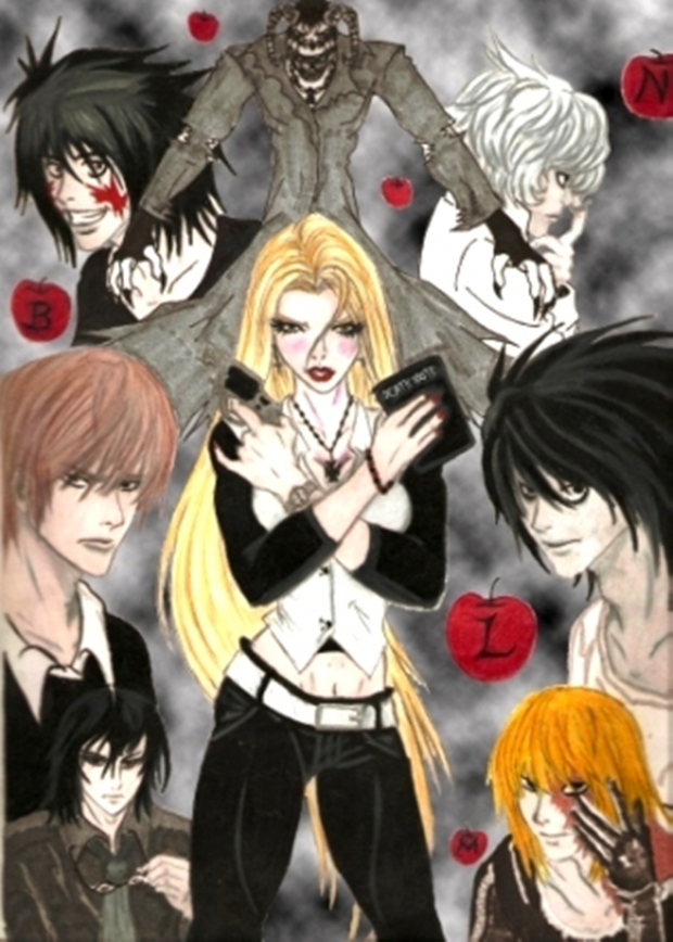 DeathNote:Resurrection... All Main Characters.