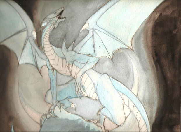 Blue-Eyes White Dragon: Realistic