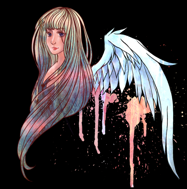 surreal angel