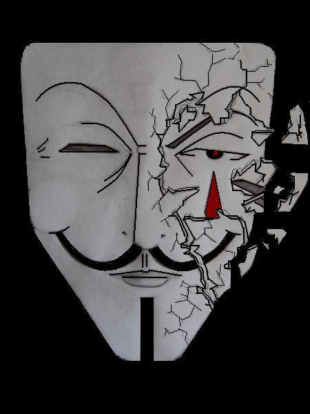 breaking d mask