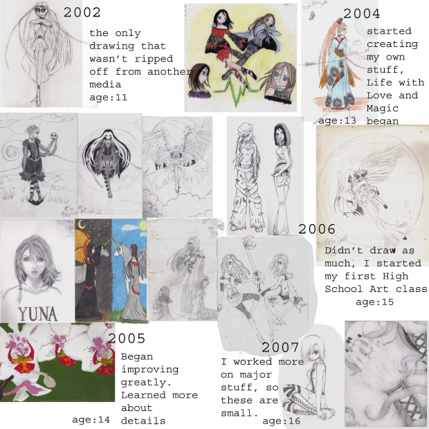 Art Improvement 2002-2007