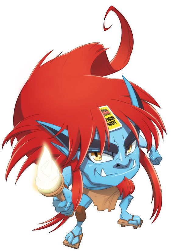 NYAF 2010 Mascot- Oni