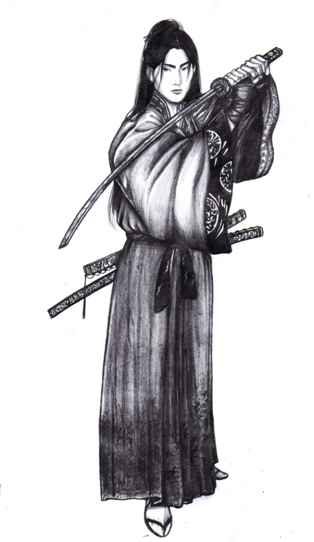 Samurai and his sword