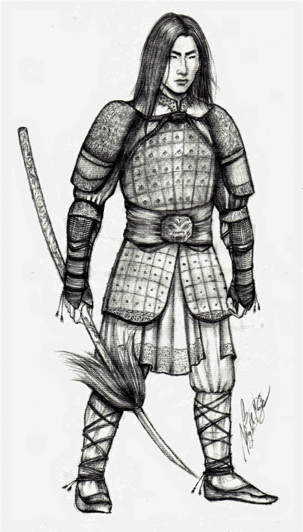 Ancient Chinese warriors series