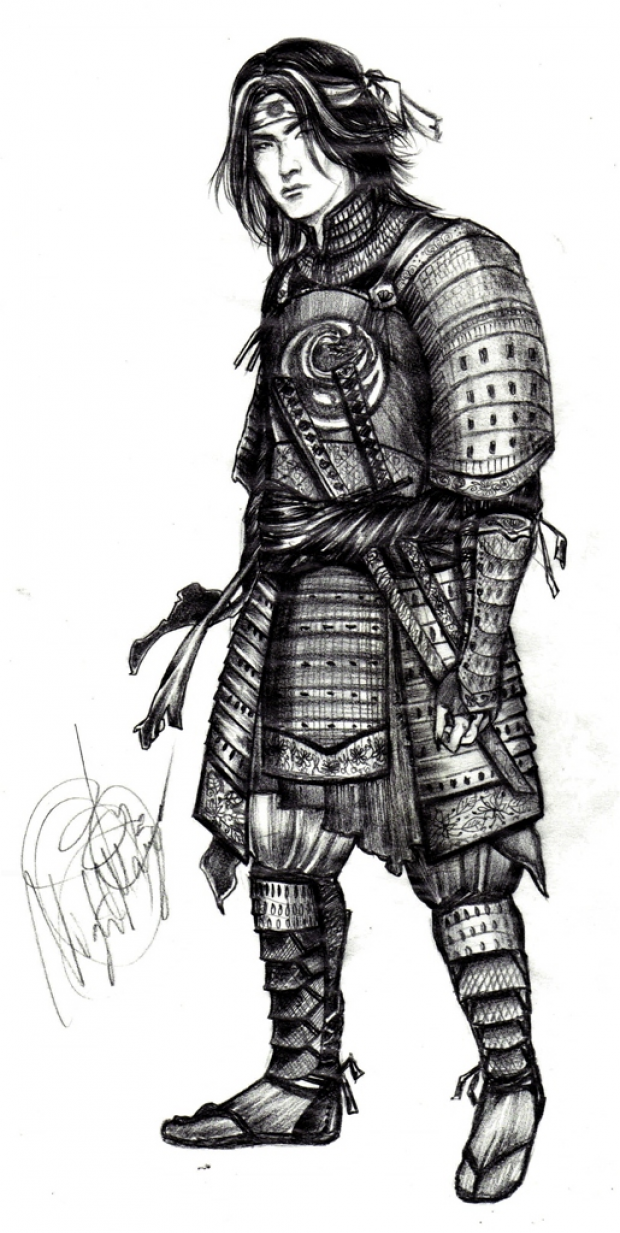 Armored samurai