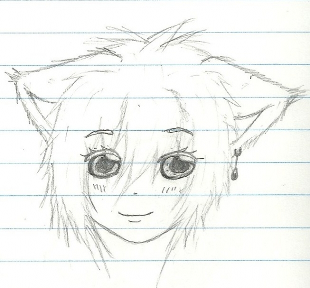 Kazuki Head Sketch