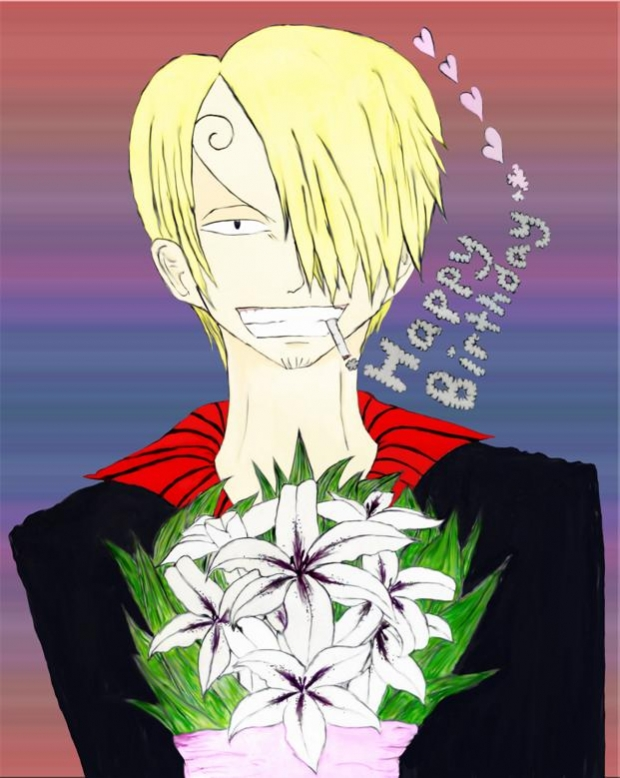 Happy Birthday!! (Sanji style)