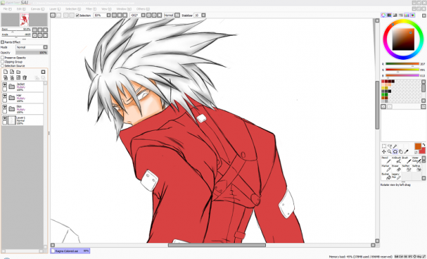WIP: BB Ragna the Bloodedge