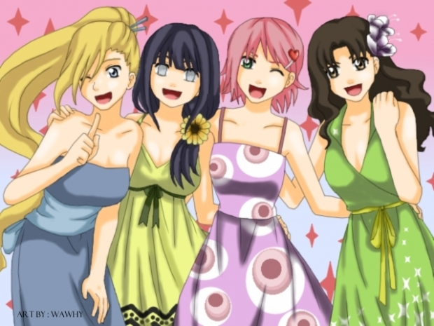 naruto girls ^^