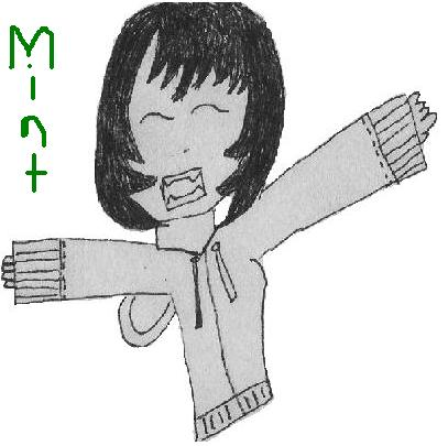 Mint- or, a little drawing of me