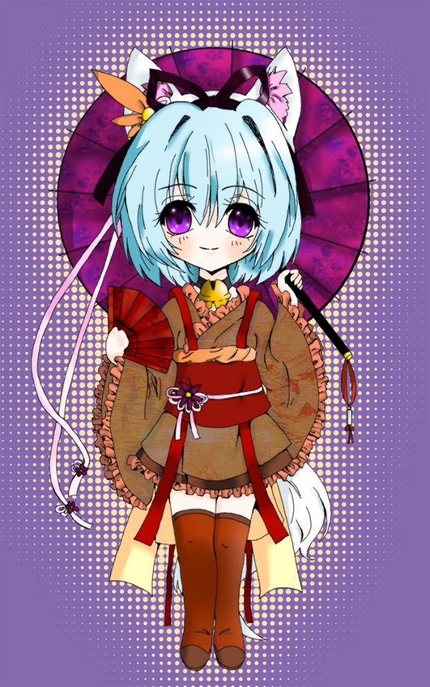 Shia-chan coloured