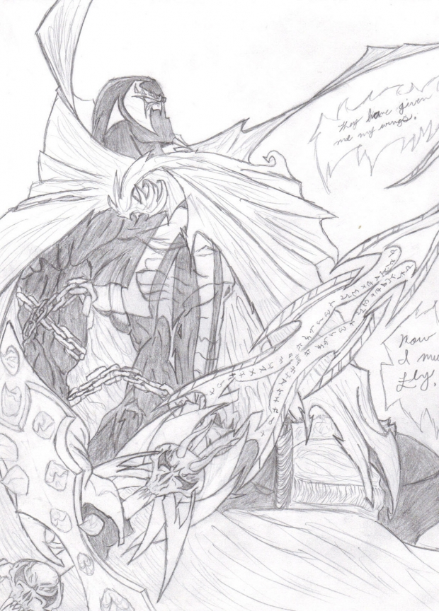 Spawn (with a sword)