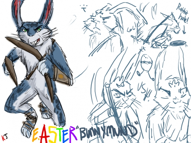 E. Aster Bunnymund [The Easter Bunny]