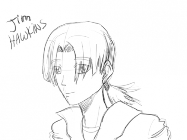 Jim Hawkins Sketch