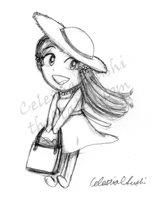 Chibi Sketch Request #1 - Orihime