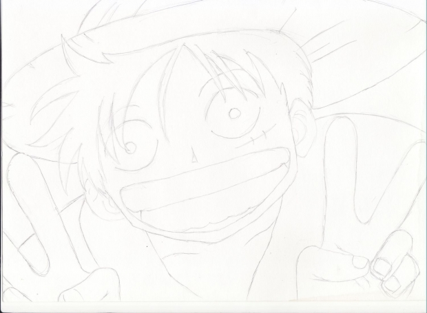 Luffy - CHEESE!