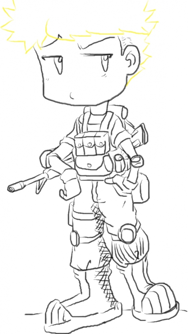 Chibi marine