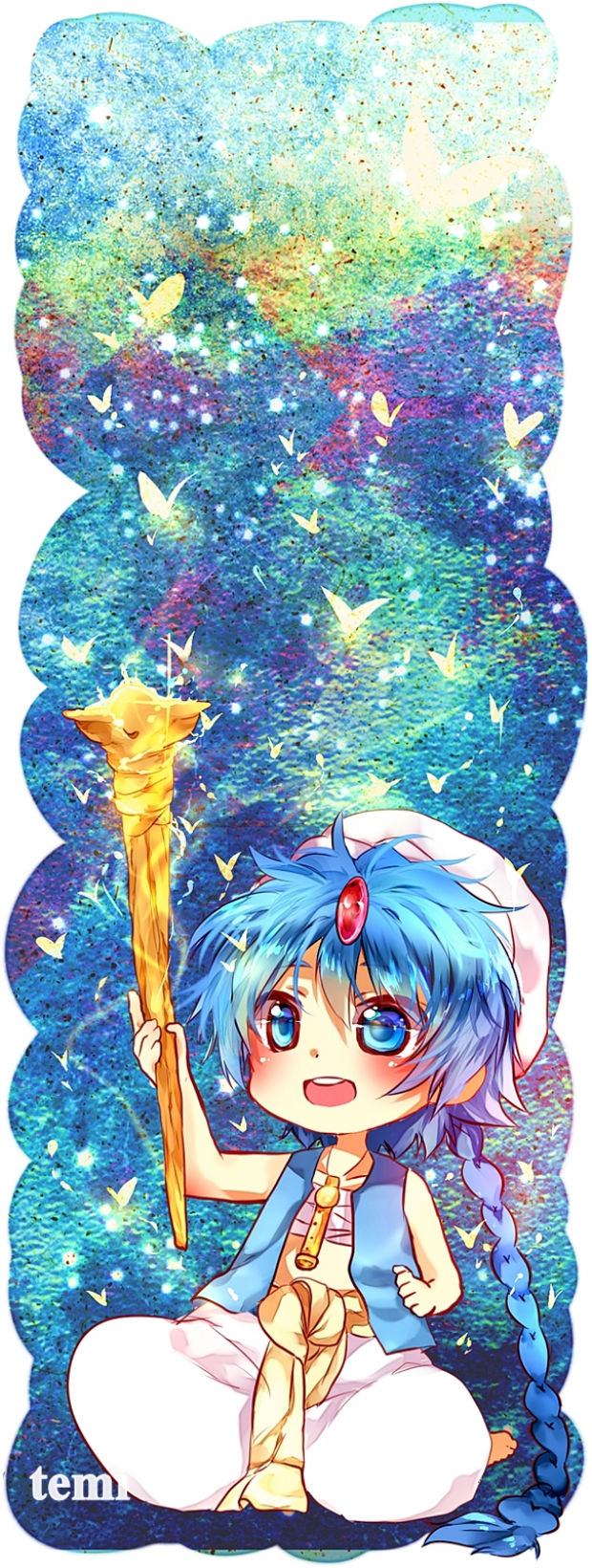 aladdin bookmark