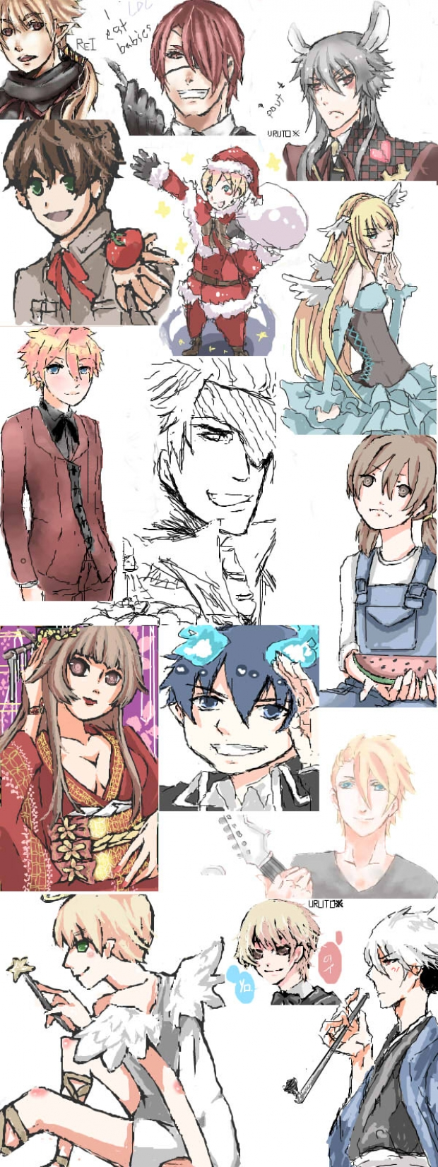 Iscribble Art Dump 1