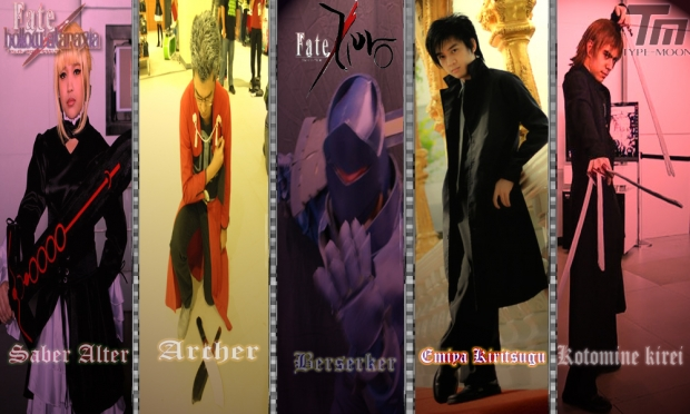 Servants and Masters Fate Zero