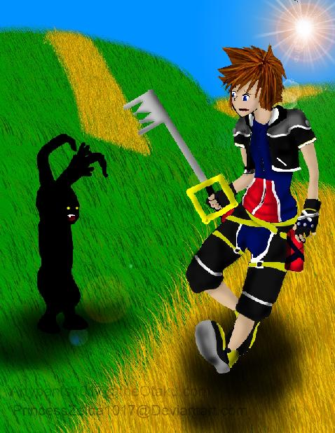 Sora vs. Heartless