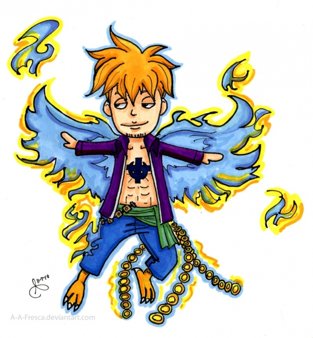 &quot;Phoenix&quot; Marco Chibi