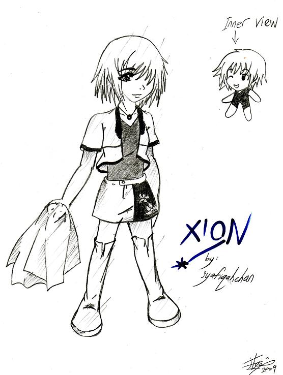 Xion's outfit