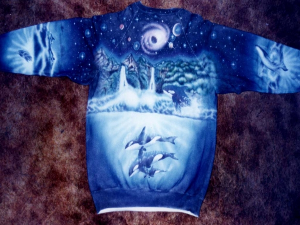 Night Star - Back Sweater