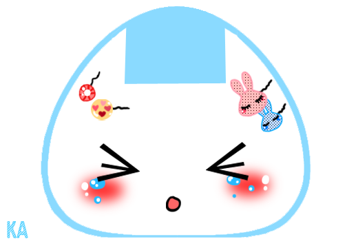 Kawaii Onigiri- Un-Happy