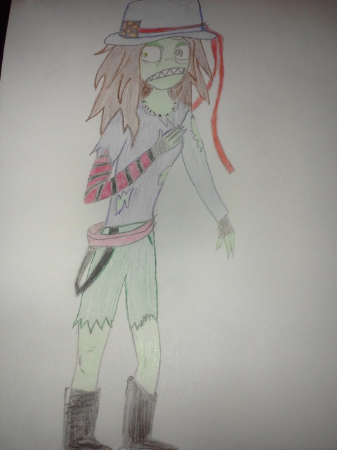 Zombie girl